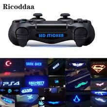 Изготовленный на заказ для PS4 игра светильник бар виниловые наклейки на стены наклейка светодиодный светильник бар крышка для Playstation 4 PS4 PRO Slim контроллер 10/20/40 шт
