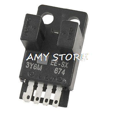 EE-SX674 NPN Micro Photo Sensor Slotted Photoelectric Switch parts leveling sensor photoelectric switch micro optical switch weco k3 optical universal
