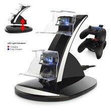 LED Lumière Double Charge USB Charging Dock Stand Chargeur Pour xbox un Contrôleur Controle Console Gamepad Accessoire