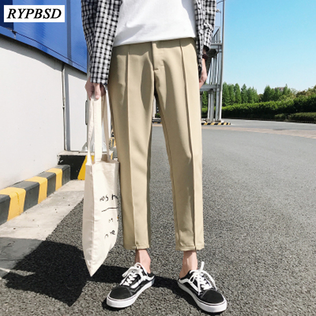 2019 New Japanese Men S Cotton Casual Harem Pants Fashion Trend