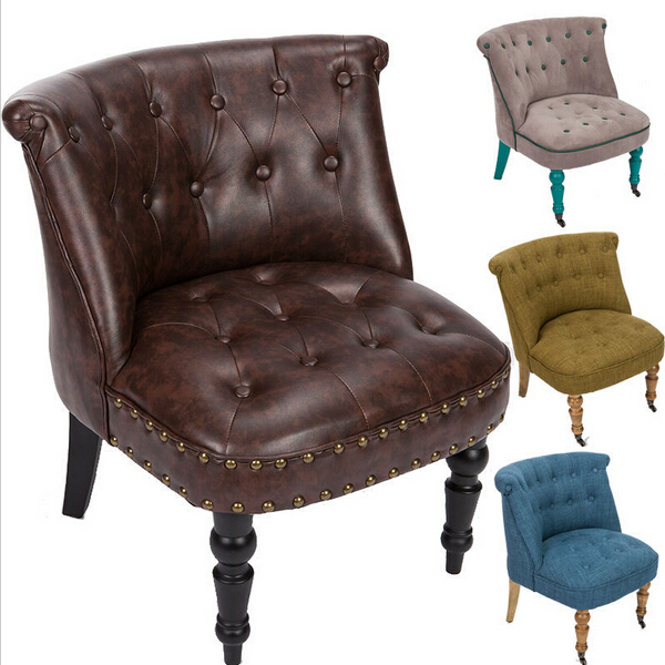 American Style Retro Chair Swivel Chairs Modern Sofa Living Room Furniture Home Furniture