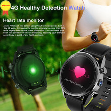 Android smart phone watch 2019 8MP HD Camera 3G+32G AMoled screen heart rate monior GPS watch sport watch men WIFI 4G Smartwatch tanie tanio NoEnName_Null CN(Origin) Android OS On Wrist All Compatible 32 GB Passometer Sleep Tracker Phase of the Moon Permanent Calendar
