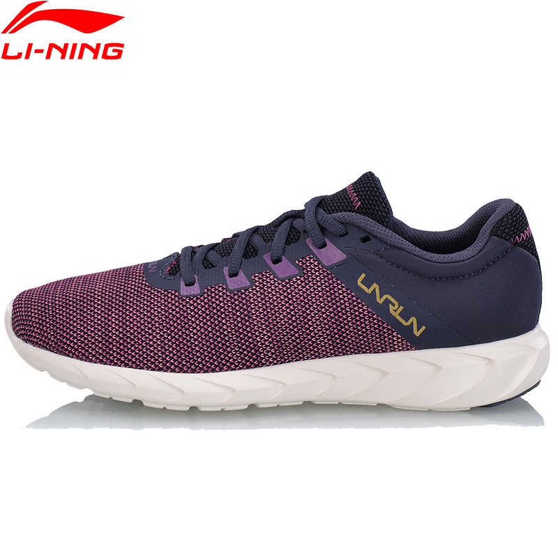Li-Ning Women FUTURE RUNNER Running Shoes Light Weight Anti-Slip LiNing Sports Shoes Breathable Sneakers ARBN002 XYP638