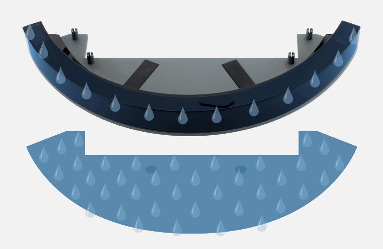 Ավտոմատ ռոբոտական փոշեկուլ 300ML ջրի - Կենցաղային տեխնիկա - Լուսանկար 5