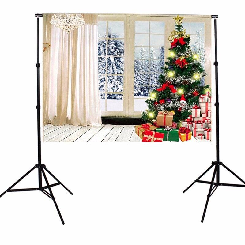 7X5FT Indoor White Christmas Theme Photography Background Photographic Backdrops For Studio Photo Props 2.1 mx 1.5m shengyongbao 300cm 200cm vinyl custom photography backdrops brick wall theme photo studio props photography background brw 12