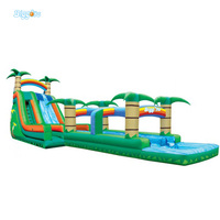 Inflatable Biggors Water Park Slide Inflatable Giant Water Slide For Fun
