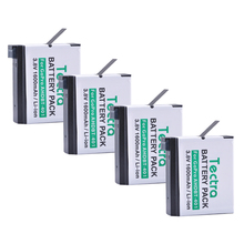 Tectra 4pcs Go Pro AHDBT-401 AHDBT 401 3.8V/1600mAh Li-ion battery for GoPro HERO4 GoPro4 Action Camera GoPro AHDBT-401