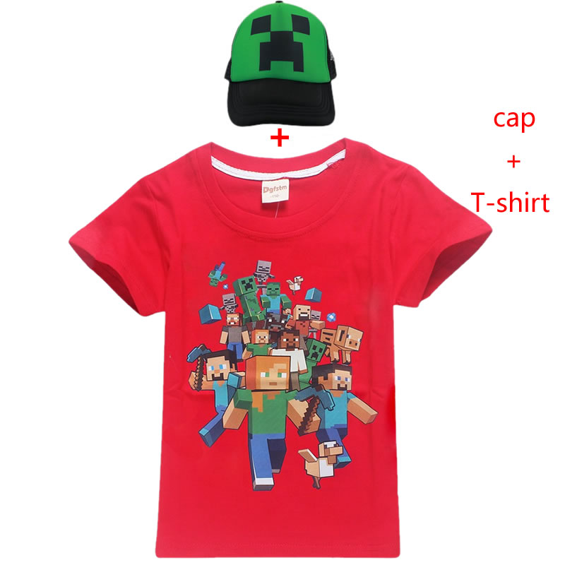 Cheap for all in-house products boys t shirt minecraft in FULL HOME