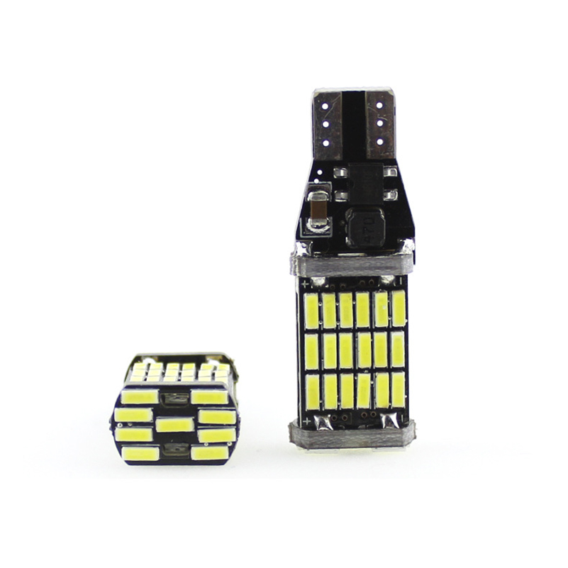 2pcs Canbus T15 921 15W 4014 SMD W16W 45 LED Auto Car Backup Light - Car Lights - Photo 2