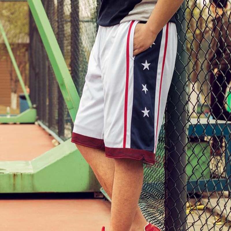 YENİ 2018 Yay Açıq ABŞ Komanda Basketbol Şort Kişi Atletik - İdman geyimləri və aksesuarları - Fotoqrafiya 4
