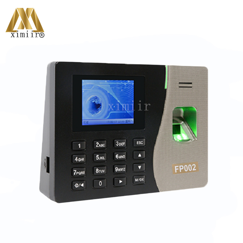 Good Quality FP002 Biometric Time Recording ZK Fingerprint Time Attendance Time Clock TCP/IP Biometric Fingerprint Reader good quality tcp ip communication free software zk multibio700 facial time attendance and access control with fingerprint reader