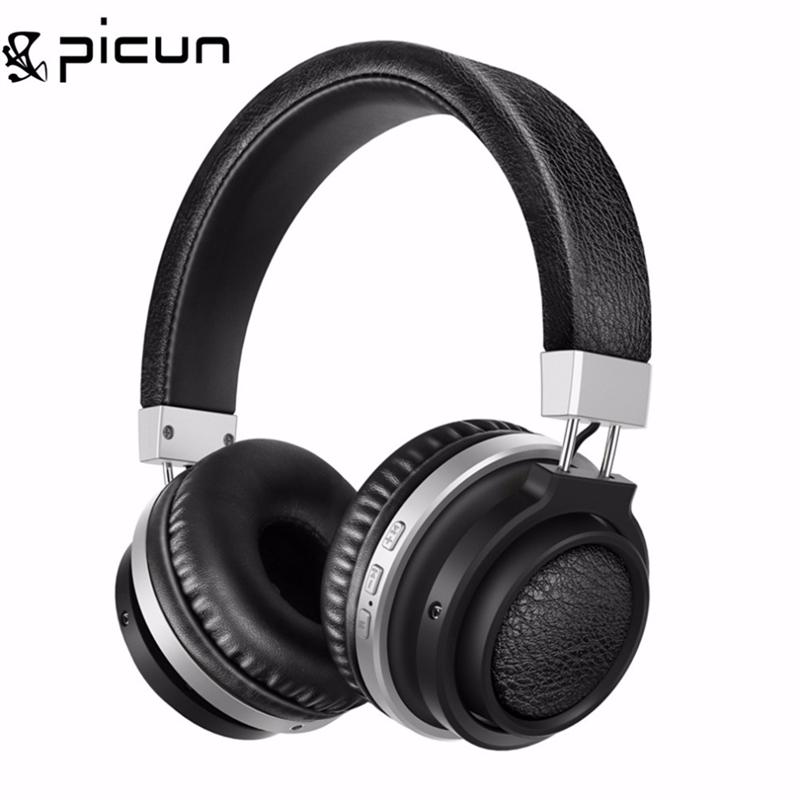 PICUN P3 Bluetooth 4.0 Wired+Wireless Headphone Super Steroe Bass Ultimate HD Noise Isolation Headphone Headset . headphones