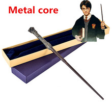 Potter magic Wand With Gift Box Packing Metal-Core Magic Wan