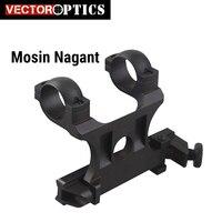 Vector Optics Replica Mosin Nagant Scope Side Steel Mount For 25.4mm 1 Inch Riflescope Scope