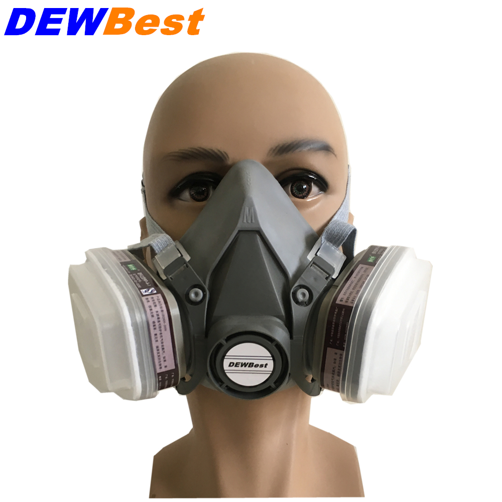 Back To Search Resultssecurity & Protection Orderly Dewbest 7502 6200 Silicone Half Facepiece Gas Mask Reusable Respiratorhalf Respirator Gas Mask Nsa8502=7502pgrade Version