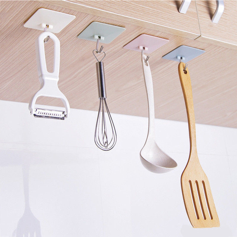 1pcs Self Bathroom Shelves Kitchen Organizer Hanger