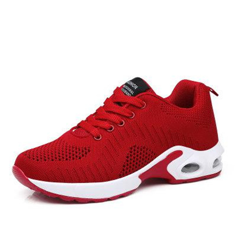 Encaje rojo La Otoño Tenis Primavera Mujer Negro Las púrpura Femenino Casuales De Coreano Deporte gris Mujeres 2019 Zapatos Rojo Señoras Púrpura Zapatillas A18w8q