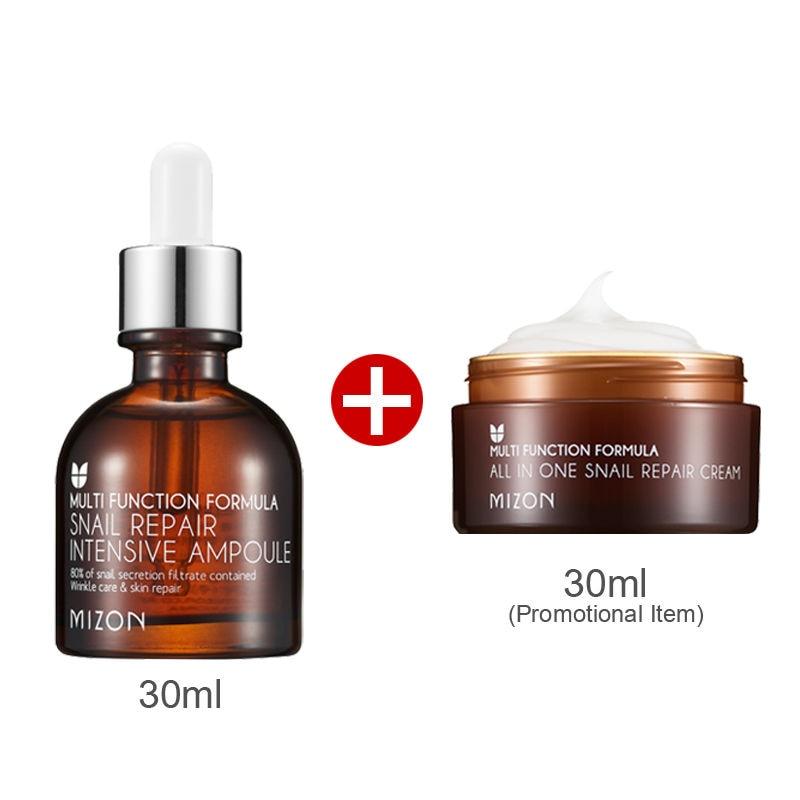 MIZON Snail Repair Intensive Ampoule Special Edition - Ampoule 30ml+Cream 30ml Korea Beauty zenfone 2 deluxe special edition