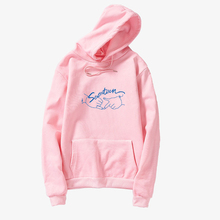 Korean Kpop Seventeen Clothes Spring Casual Gesture Letter Printed Hoodies Women
