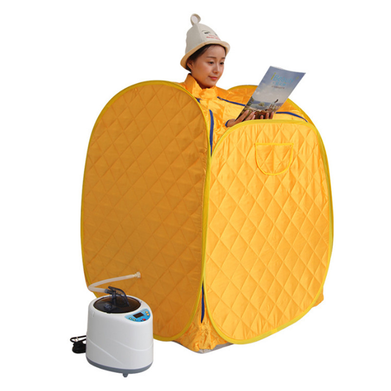 Portable Steam Sauna room steam sauna box Tent Steamer home sauna generator steam box Skin Spaning body Capacity 2L Power 1000W new products one person portable steam sauna room home steam sauna box portable steam sauna tent