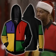 The Fresh Prince of Bel-Air Will Smith Costume Movie Hoodie Cosplay Coats Sweatshirts Men Women Jackets 2019 New