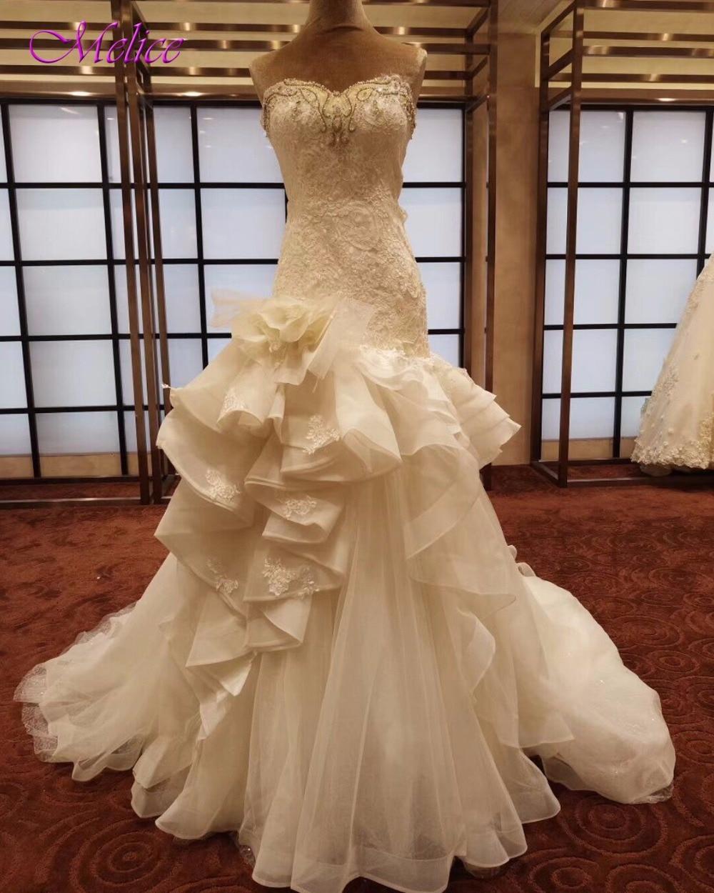 Strapless Mermaid Wedding Gown: Aliexpress.com : Buy Fmogl New Luxury Beaded Strapless