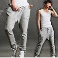 MK Hombres Pantalones Adolescente Pantalones 2017 Nueva Marca Casual Male Pantalones Rectos de Salud Barato Estudiante Más El Tamaño XL
