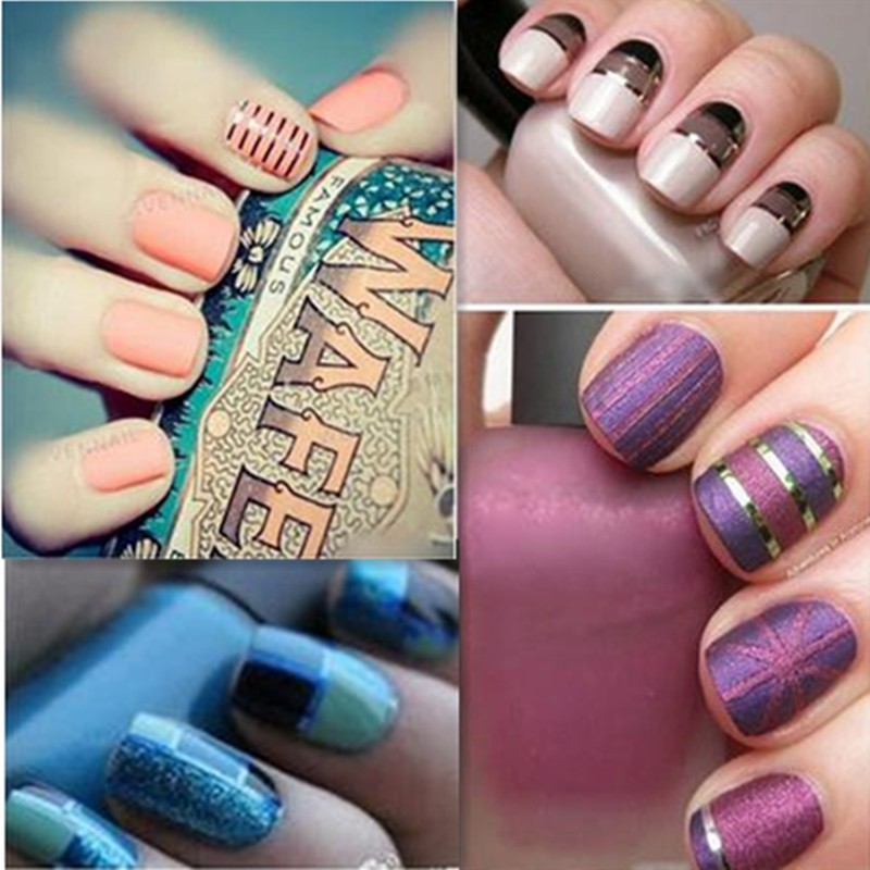 Hot-Sale-20Pcs-Mixed-Colors-Sticker-Nail-Art-DIY-Tips-Decoration-Stickers-Rolls-Striping-Tape-Line (2)