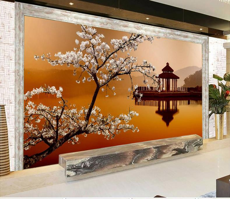 Modern 3d wall murals wallpaper photo hd beautiful for Mural 3d wallpaper
