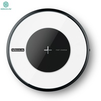 Nillkin Magic Disk 4 Portable Qi Wireless Charger For Samsung S7 Edge S8 Plus Note 4