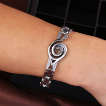 Naruto Konoha Wristband The Ninja Logo Charm jewelry alloy Bracelet bangle