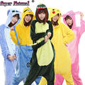 Adult Cartoon Winter Animal Pikachu Totoro Unicorn Cat Tiger Giraffe Cow Pajamas Kigurumis Onesies Cosplay Costume Sleepwear