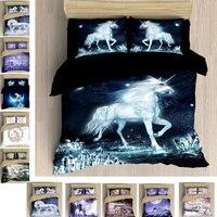Kids Bedding Outlet Bed Linen Set Unicorn Bedclothes Bed Cloth Cover Couples Comforter Duvet Cover Set King Size Bedding Set