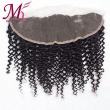 Brazilian Virgin Human Hair 7A Full Lace Frontal Closure 13×4 Kinky Curly Wave Ear To Ear Top Lace Frontal Wholesale Price