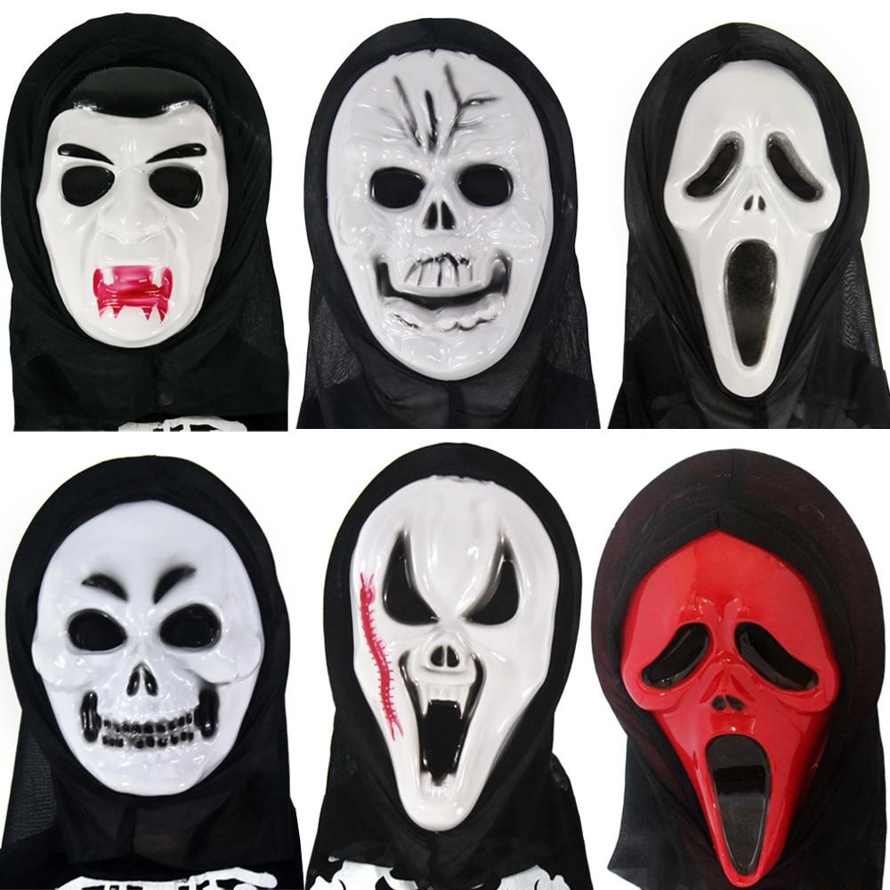 Halloween Mask Super Scary Horror Masks Party Devil Scream Volto ...