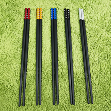 No Paint No Wax No Rust Alloy Chopsticks Set High-Grade Creative Gifts Hotel Japan Style Private Home Ten Pair Pack no rust copper round ball lightning rod 37cm high rooftop