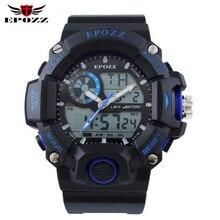 50 M resistente al agua relojes deportivos hombres de cuarzo reloj digital relogio masculino reloj digital orologio da uomo reloj deportivo