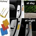 Car Sticker Door Open Warning Stickers Reflective Warning Decoration Sticker For Chevrolet Cruze Opel Mokka 4pcs Per Set
