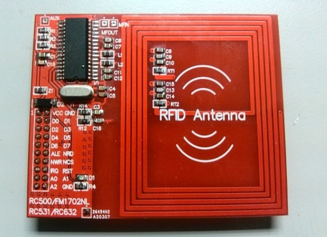 RC632 Module Development Board Technical Support CPU Card Multi Protocol CLRC632 Radio Frequency Identification RFID