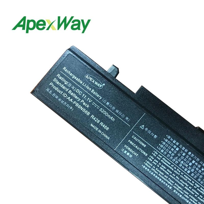Apexway 11.1V RV520-batteri för Samsung AA-PB9NC6B AA-PB9NC5B - Laptop-tillbehör - Foto 6