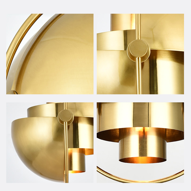 JAXLONG Modern Pendant Lights Personality Restaurant Hanging Lamp Bedroom Semicircle Bedside Lustre Suspension light fixtures in Pendant Lights from Lights Lighting