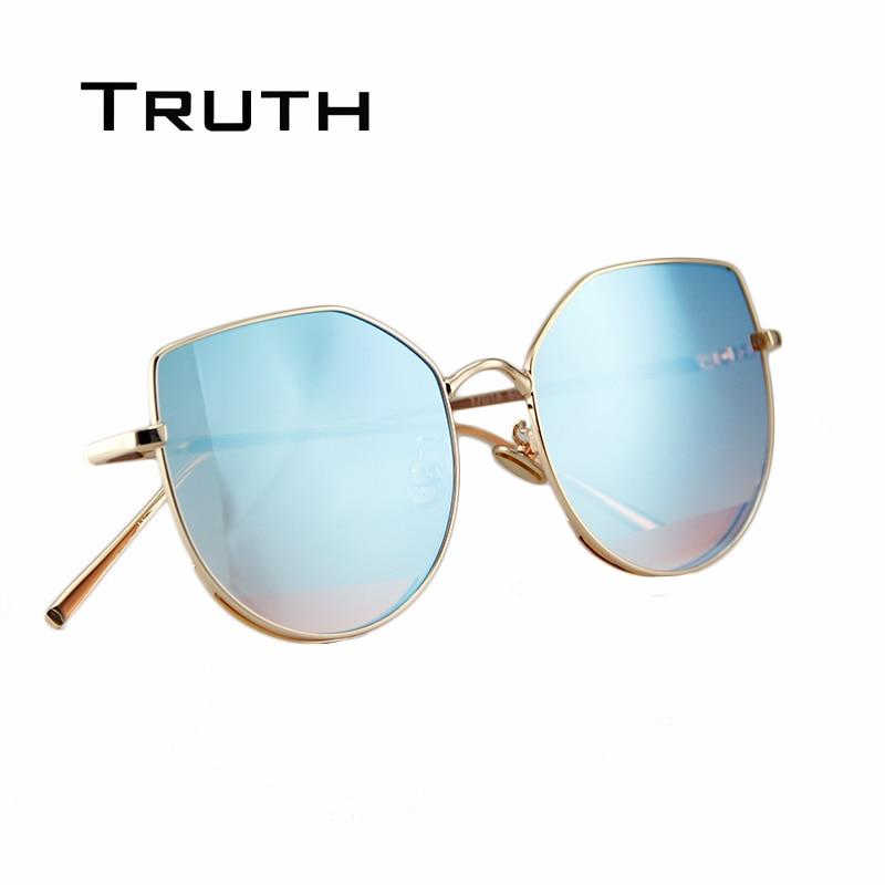 TRUTH luxury mirror sunglasses for women brand designer mirrored ...