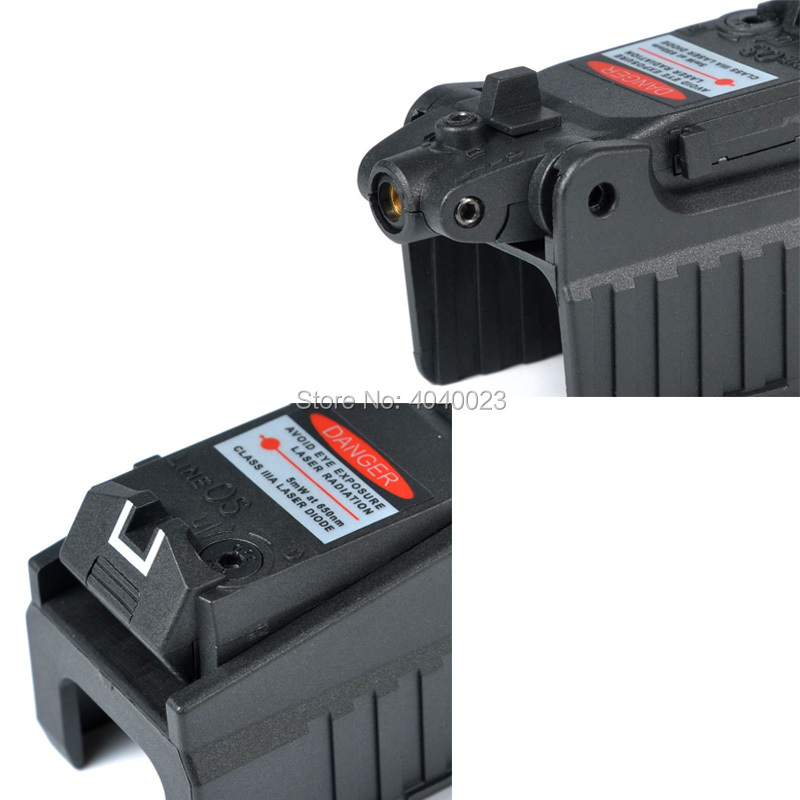 Tactical Compact Glock Red Laser Pistol Laser Sight For Glock 17 18C 19 22 23 25 26 27 28 31 32 33 34 35 37 Series-3