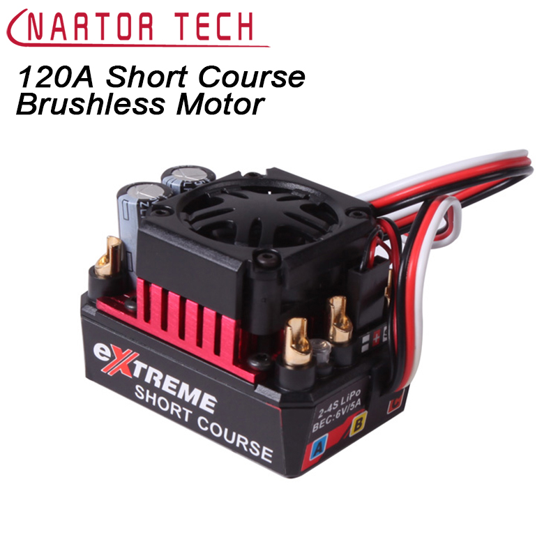 Great Hobbyking EXTREME SHORT COURSE Short Course Brushless Motor 120A 2S-4S ESC Speed Controller for 1/8 1/10 SUV Car great hobbyking extreme short course short course brushless motor 120a 2s 4s esc speed controller for 1 8 1 10 suv car