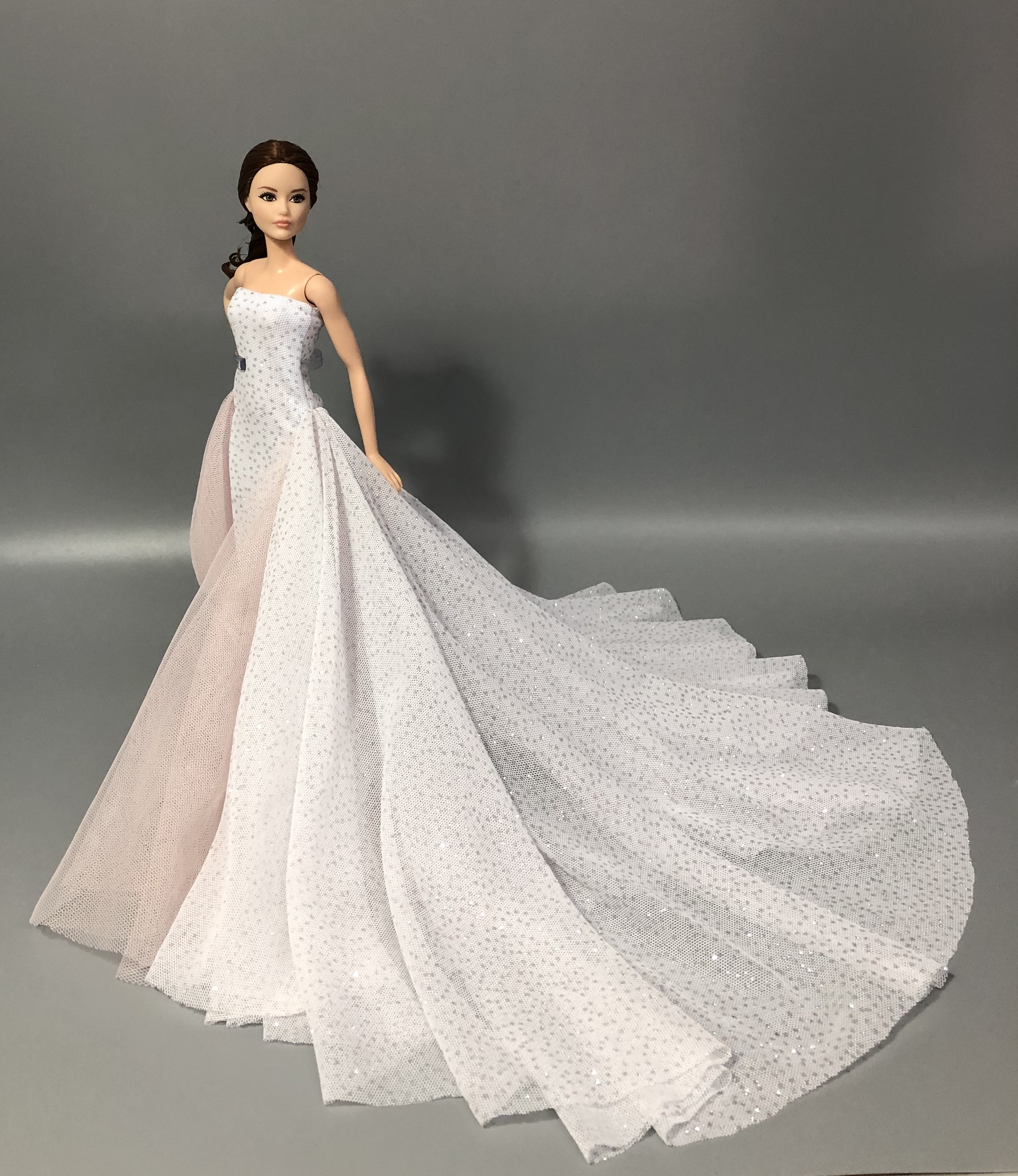 The Original For Barbie Dress Barbie Doll Clothes Wedding Dress Quality Goods Fashion Skirt Princess Dress Doll Accessories