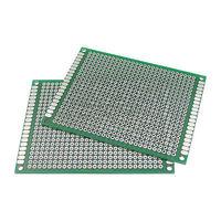 10PCS Double Side Protoboard Circuit Universal DIY Prototype PCB Board 6cmx8cm