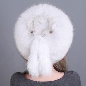 Image 3 - Bonnet de fourrure en renard véritable