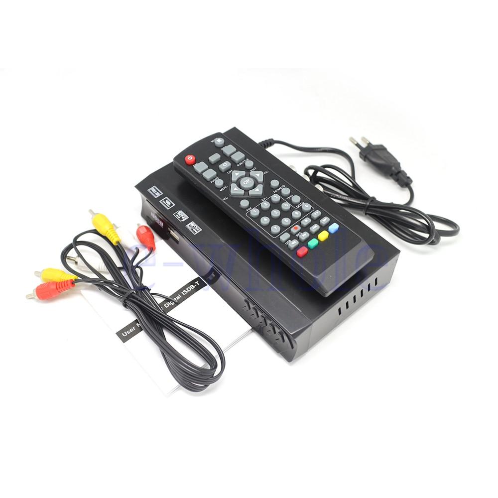 Mllse Isdb-t Dvb Digital Video Tv Tuner Receiver Set Top Box Fit For Brasil Chile Peru Vc0170 Street Price