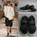 New 2016 men's design high quality cowhide genuine leather sandals mens comfortable sandalias summer style flat shoes