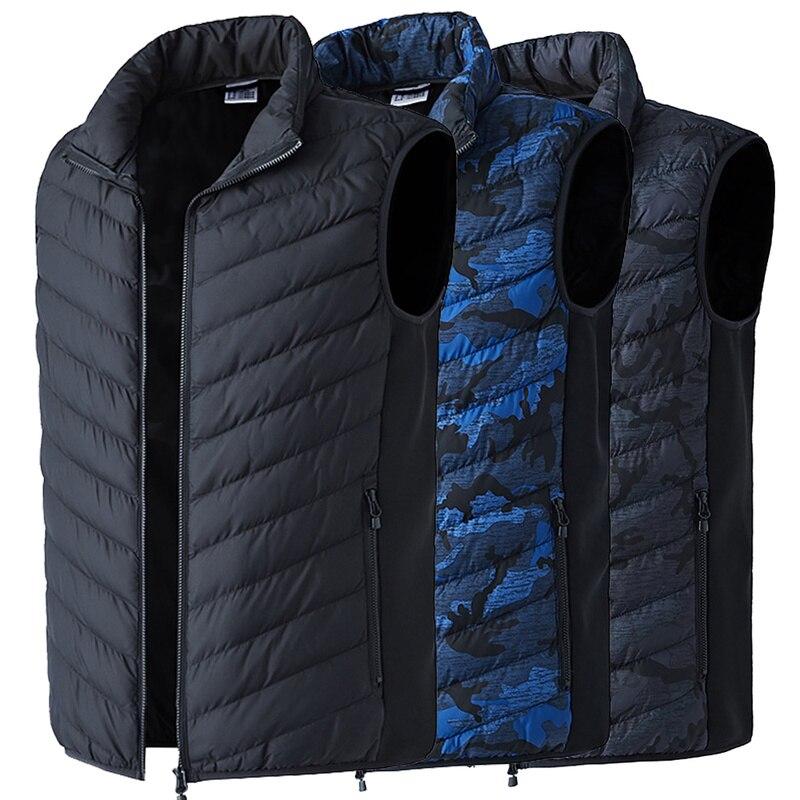 2018 ao ar livre usb infravermelho aquecimento colete jaqueta inverno eletrico de fibra carbono quente lavavel